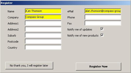 Configuration Guide - Registration 2