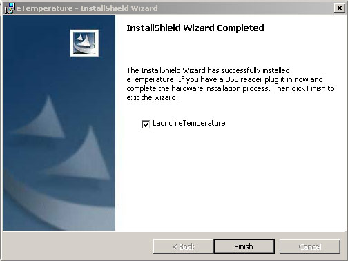 Installation Guide - Wizard Completed